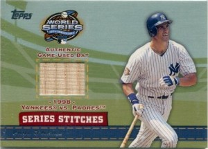 2004 Topps Series Stitch Paul O'Neill