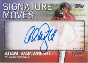 2004 Topps Traded Signature Moves Wainwright