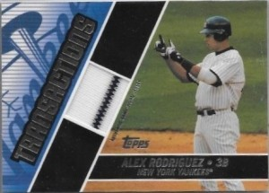 2004 Topps Traded Transaction Relics A Rod