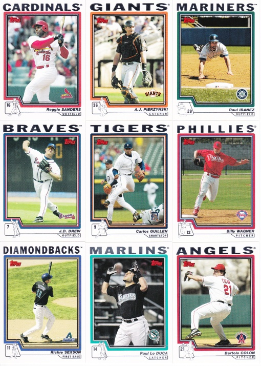 2004 Topps Update big trades