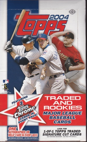 2004 Topps Update box
