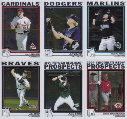 2004 Topps Update Chrome