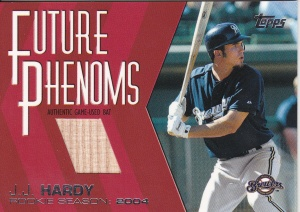 2004 Topps Update Future Phenoms Hardy