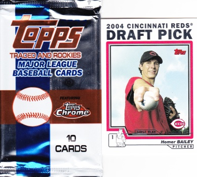 2004 Topps Update pack Bailey