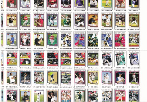2004 Topps Update Puzzles