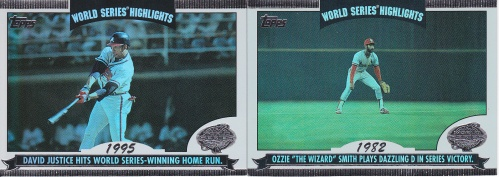 2004 Topps World Series Highlights s2 box