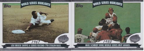 2004 Topps WS Highlights s1 box