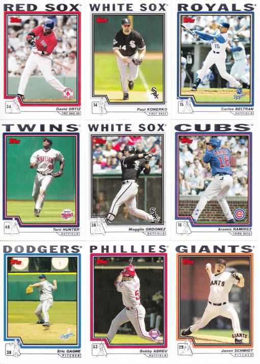 2004 Topps young stars