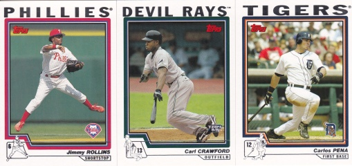 2004 Topps youngster hitters