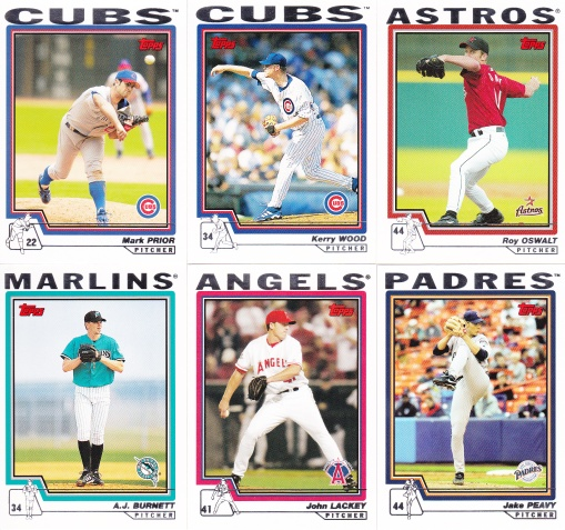 2004 Topps youngster pitchers