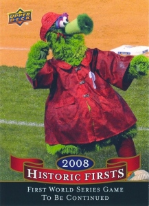 2008 Upper Deck Historic Firsts Phanatic