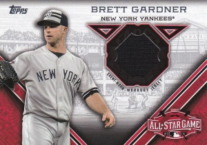 2015 Topps Update All-Star Stitch Gardner