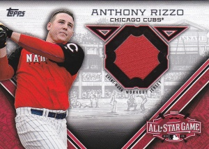 2015 Topps Update All-Star Stitch Rizzo