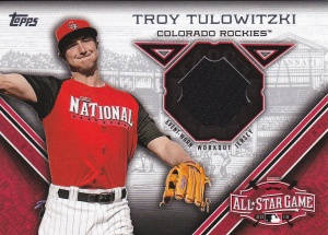 2015 Topps Update All-Star Stitch Tulo