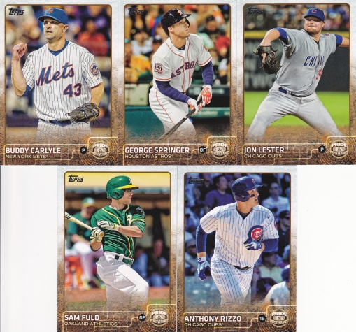 2015 Topps Update box Pride Perseverance