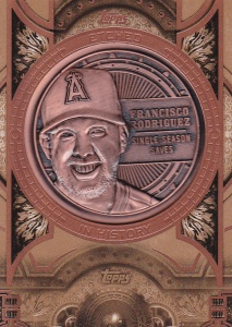 2015 Topps Update Etched in History K-Rod