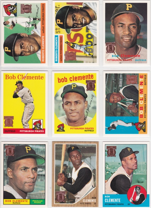 1998 Topps Clemente Reprint complete