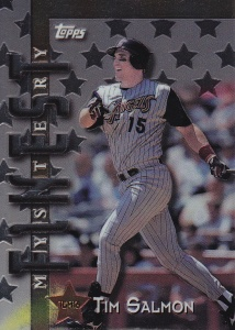 1998 Topps Interleague Mystery Finest Tim Salmon final card