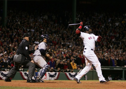 2004 ALCS Ortiz game 4 walk off HR