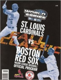 2004 World Series program