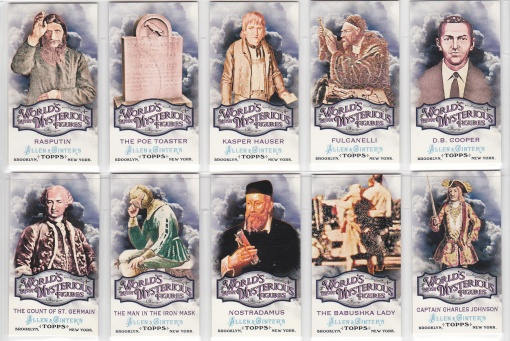 2011 Ginter Worlds Mysterious set