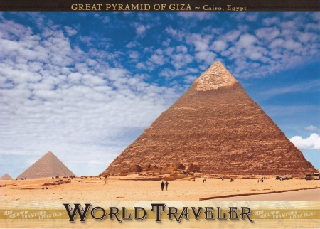 2011 Goodwin World Traveler Pyramind of Giza