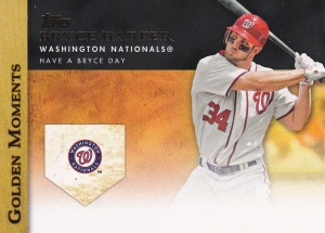 2012 Topps Golden Moments GMU1 Harper