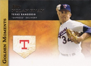 2012 Topps Golden Moments insert Nolan Ryan