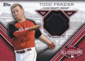 2015 Topps Update All-Star Stitch Frazier