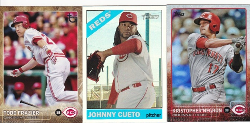 Trade Night Owl Dec 2015 Topps Reds parallels