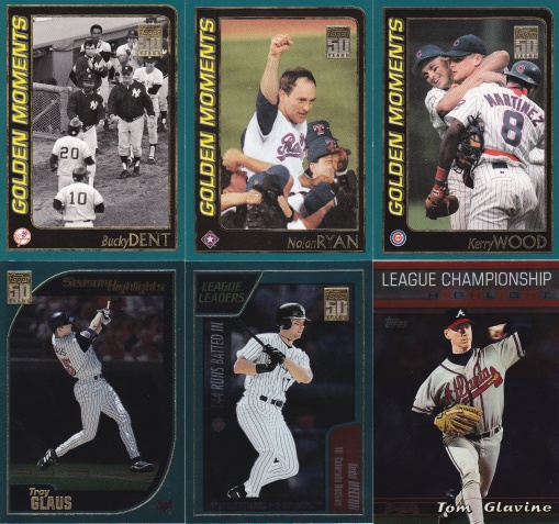 Trade reader Kary Dec 2015 - 2001 Topps subsets