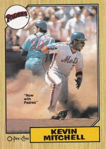 1987 OPC Kevin Mitchell