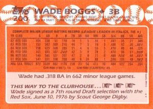 1988 Topps Tiffany Boggs back