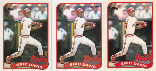 1989 Topps Davis rainbow
