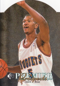 1994-95 SP Die-Cut Jalen Rose RC