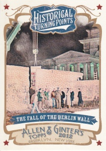 2012 Ginter Historical Turning Fall of Berlin Wall