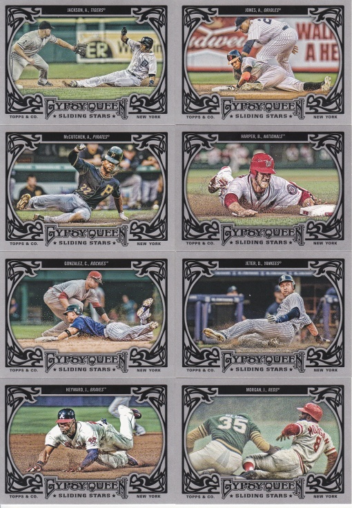 2013 Gypsy Queen Sliding Stars complete