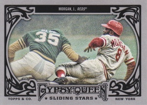 2013 Gypsy Queen Sliding Stars Joe Morgan