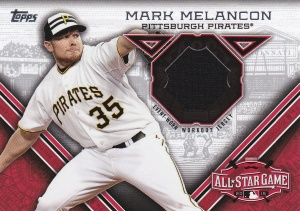 2015 Topps Update All-Star Stitch Melancon