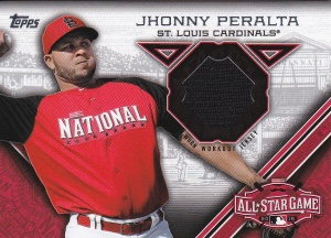 2015 Topps Update All-Star Stitch Peralta