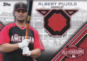 2015 Topps Update All-Star Stitch Pujols