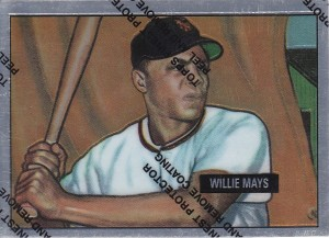 1997 Topps Mays Finest 1951 Bowman
