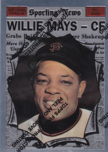 1997 Topps Mays Finest 1961 AS