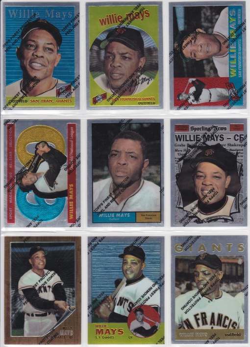 1997 Topps Mays Finest 2