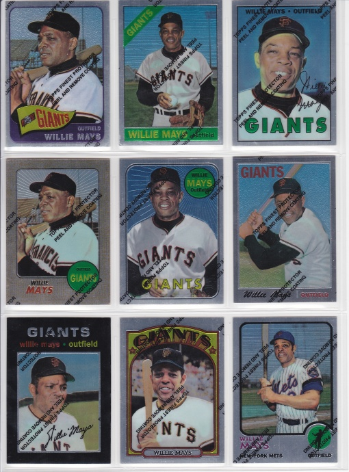 1997 Topps Mays Finest 3