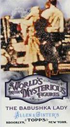 2011 Ginter Mysterious Babushka Lady