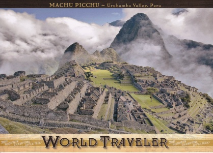 2011 Goodwin World Traveler Machu Picchu