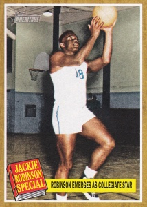 2011 Topps Heritage Jackie Robinson Special 135 UCLA