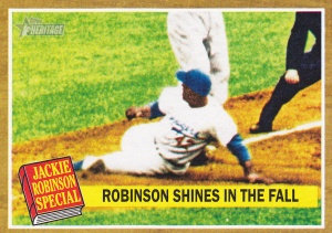 2011 Topps Heritage Jackie Robinson Special 143