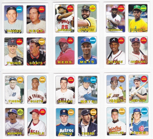 2013 Topps Archives 4-in-1 complete